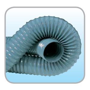 PVC ducting – Lightweight