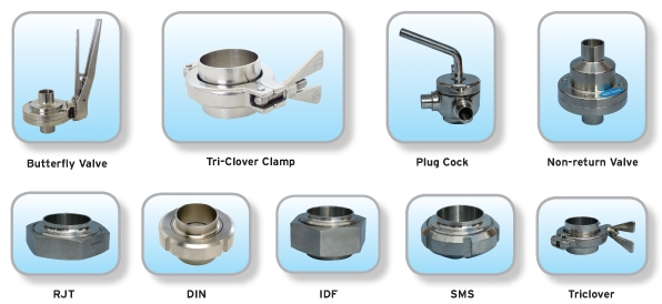 Hygienic fittings from lantech solutions ltd